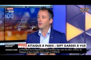 26/09/2020 - François Bersani, intervient sur l'attaque au couteau dans le 11ème Arrdt de Paris