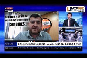 BONNEUIL-SUR-MARNE, AGRESSIONS DE POLICIERS, SUICIDES... Retrouvez Grégory JORON sur CNEWS