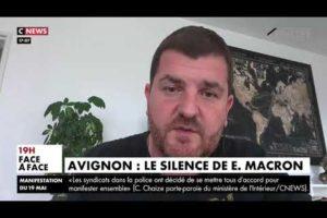 Grégory JORON, UNITÉ SGP POLICE au sujet du silence du chef de l'état suite au meurtre d'Eric