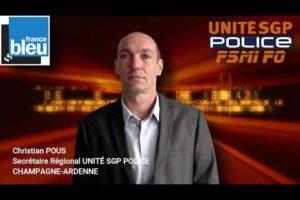 Verdict en appel de VIRY-CHATILLON : Réaction de Christian POUS sur FRANCE BLEU