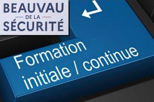 """Lundi 8 mars 2021 : Chantier """"FORMATION"""" du BEAUVAU de la sécurité"""