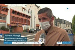Intervention de Johann Maugé concernant les effectifs en berne dans l'Eure