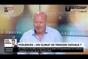 Jean-Christophe Couvy intervient sur CNEWS explosion de la violence