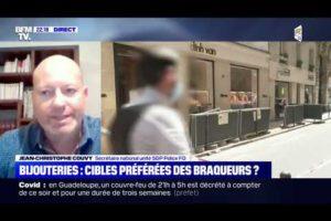 NOUVEAU BRAQUAGE DE BIJOUTERIE :🔴Jean-Christophe COUVY sur BFMTV