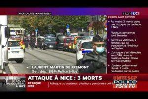 Laurent MDF réagit à l'attaque au couteau de Nice