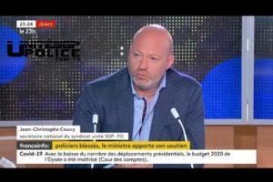 Jean Christophe Couvy sur FRANCE INFO TV on a cherché à tuer mes collègues !