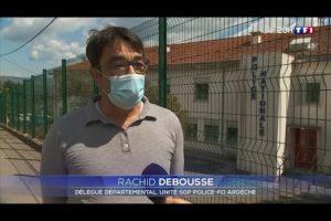 Violences urbaines à AUBENAS : Retrouvez Rachid DEBOUSSE sur TF1