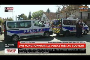 François BERSANI intervenait sur CNEWS suite à l'attaque au couteau au commissariat de Rambouillet