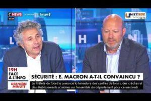 Jean-Christophe COUVY débat sur CNEWS suite aux annonces du Président de la République