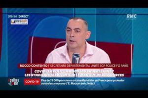 Rocco CONTENTO intervenait à propos des manifs du 14 juillet et contrôles COVID prévus par le gouv.