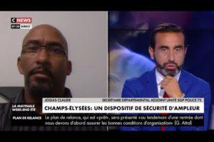 Josias CLAUDE sur CNews à propos de la sécurité du match de finale PSG/BAYERN 23/08/2020