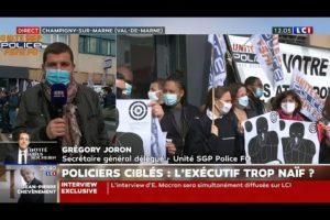 RASSEMBLEMENT NATIONAL À L'APPEL D'UNITÉ SGP POLICE : Grégory JORON sur LCI