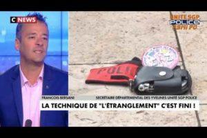 François Bersani secrétaire départemental UNITÉ SGP POLICE 78 parle des propos du ministre sur CNEWS