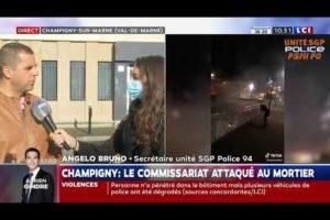 Angelo Bruno est en colère sur LCI suite à l'attaque de Champigny !