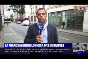 DISCOURS D'EMMANUEL MACRON : Angelo BRUNO, secrétaire régional adjoint PARIS UNITÉ SGP POLICE
