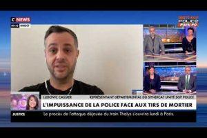 Ludovic CASSIER, départemental du Rhône, réagit aux attaques de mortier