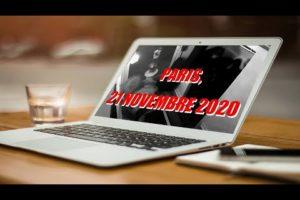PARIS, le 21 novembre 2020. Images extraites de la vidéosurveillance.