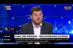 Intervention de Gregory JORON sur CNews suite aux débordements du match PSG/BAYERN
