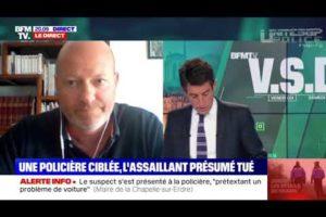 Jean-Christophe COUVY sur BFM, après l'attaque au couteau d'une policière à LA CHAPELLE-SUR-ERDRE